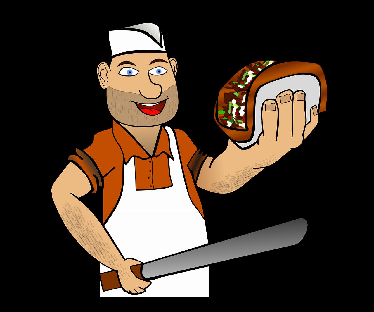 ציור של טבח