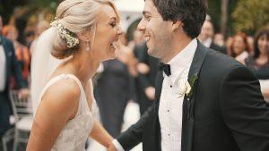 זוג מאושר לאחר הורדה במשקל