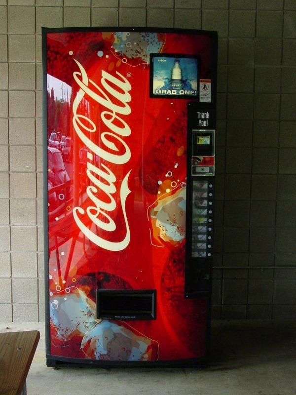 מכונה של קוקה קולה