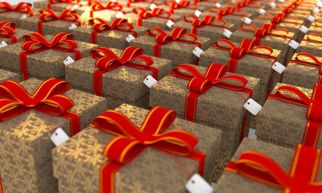 הזמנה של מתנות