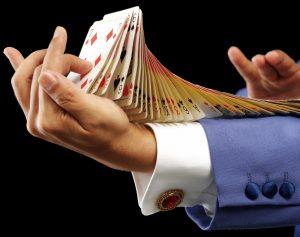 טריק עם קלפים